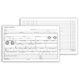Optometry Record Card Two Sided 21109 Deluxe Optometry Form Template