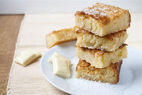 rezept kuchen weiße schokolade wei 223 e schoko kokos blondies kaffee cupcakes