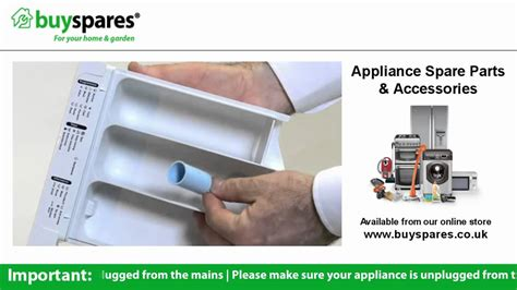 How To Use A Washing Machine Drawer by How To Remove And Clean The Soap Drawer In A Washing