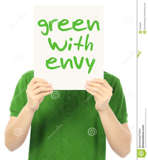 Green With Envy green with envy stock photo image 43206801