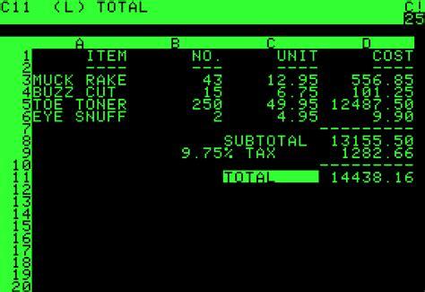 Amiga Toaster Visicalc Wikipedia