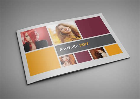 Design Haven Portfolio Book Template For Indesign Cs4 Or Later Indesign Landscape Template