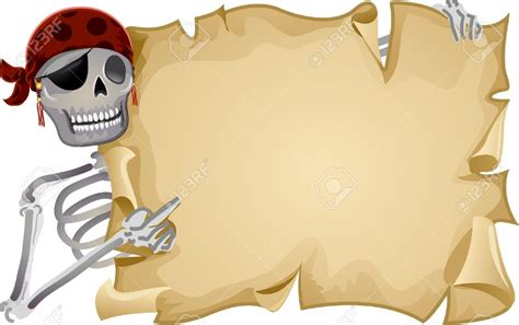 pirate scroll template 15 pirate scroll clip