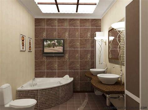 azulejos  dibujos en marron bano banos banos