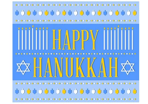 printable hanukkah decorations free hanukkah party printables from printabelle party