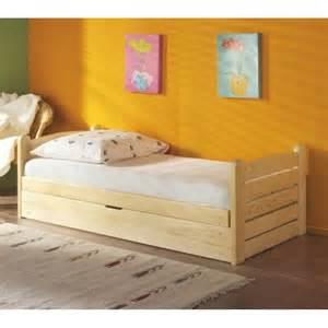 lit enfant ola couleur pin avec coffre de rangement www