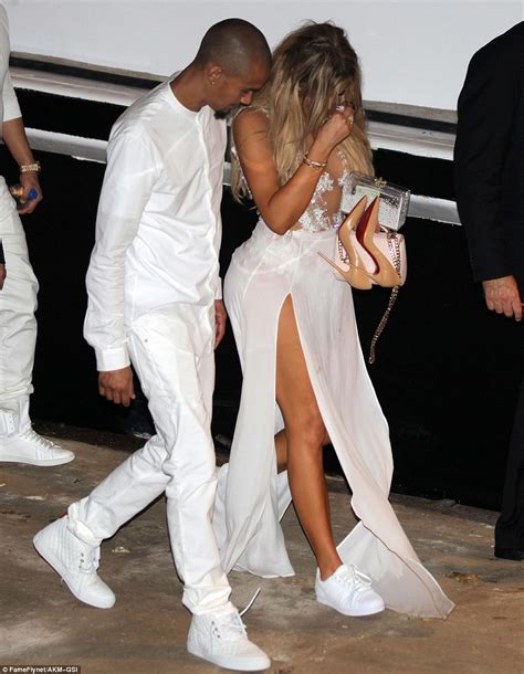 all white boat party nyc 2017 khloe kardashian wears revealing dress for james harden s