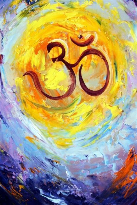 watercolor ohm understanding the significance of om fractal enlightenment