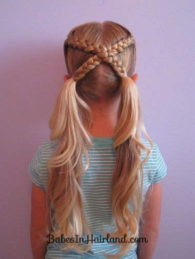 Easy Kid Hairstyles by Best 25 Kid Hairstyles Ideas On
