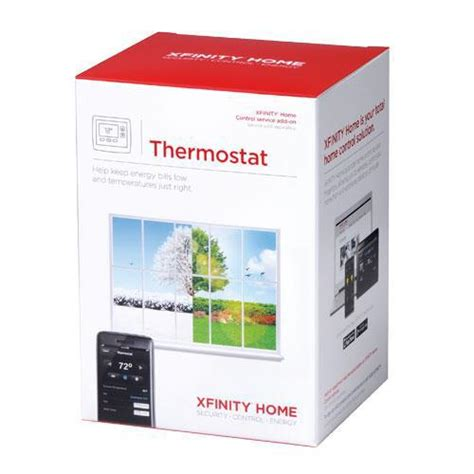 comcast thermostat xfinity home thermostat home