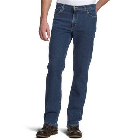 comfort fit mens jeans lee brooklyn mens regular comfort fit jeans dark stonewash