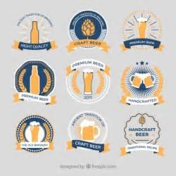 Bieretiketten Vorlage by Retro Stil Etiketten Bier Der Kostenlosen Vektor