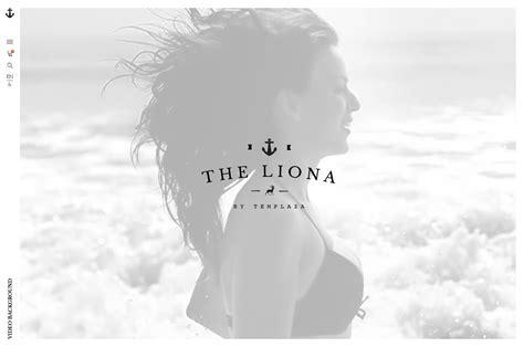 themeforest video background liona responsive portfolio joomla template by templaza