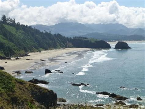 indian beach looking south picture of ecola state park