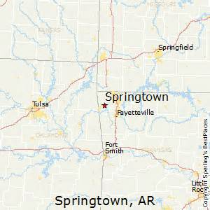 springtown map best places to live in springtown arkansas