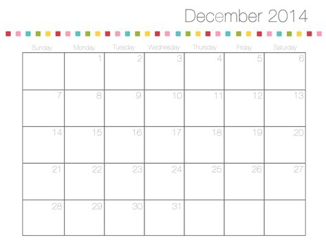 december 2014 calendar printable doc free printable calendars i heart nap time