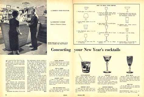 new year 1959 liberty magazine 187 canadian culture thing