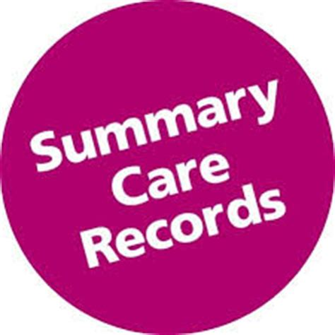 summary care record – sign up by end of year : sunderland lpc