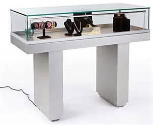 Jewelry Display Cabinet Malaysia Sit Jewelry Hydraulic Lift Opening Silver Base