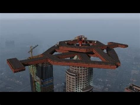 modded deathmatch maze bank castle. gta 5 online on ps3