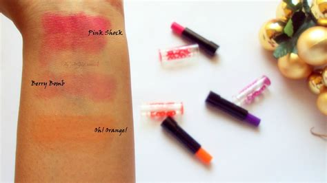 Maybelline Baby Electro maybelline baby electro pop review swatches tjd