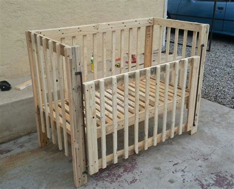 Diy Cribs by Baby Cradle Crib Of Wooden Pallets Pallet Diy Furniture