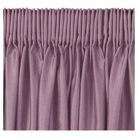 mauve faux silk curtains buy tesco faux silk lined pencil pleat curtains