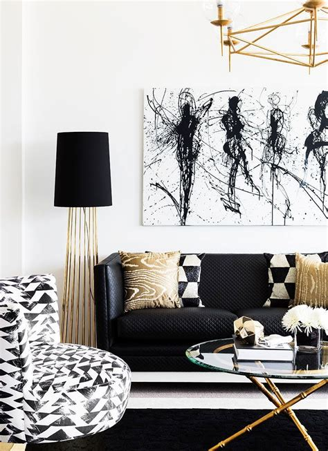 Black White And Gold Living Room - top 25 best black gold bedroom ideas on white