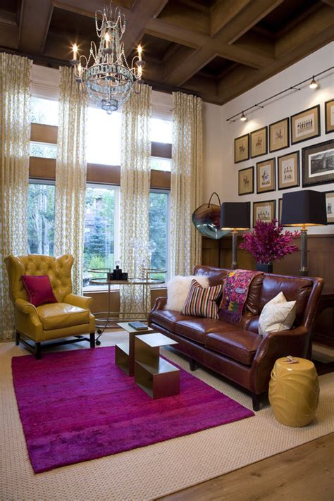 colorful rugs for living room traditional living room design by denver interior designer