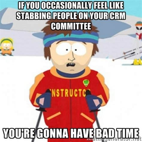Ski Instructor Meme - u of admissions marketing crm in higher education the