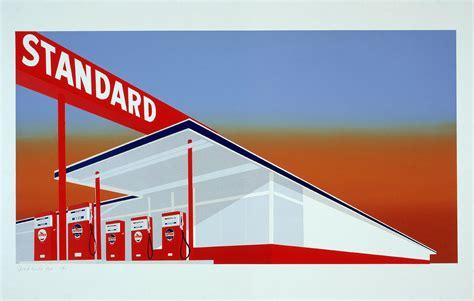 ed ruscha ed ruscha standard oil at archeus postmodern art southton