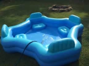 Backyard Blow Up Pools by Pics Photos Intex Swim Center Family Lounge Pool Above
