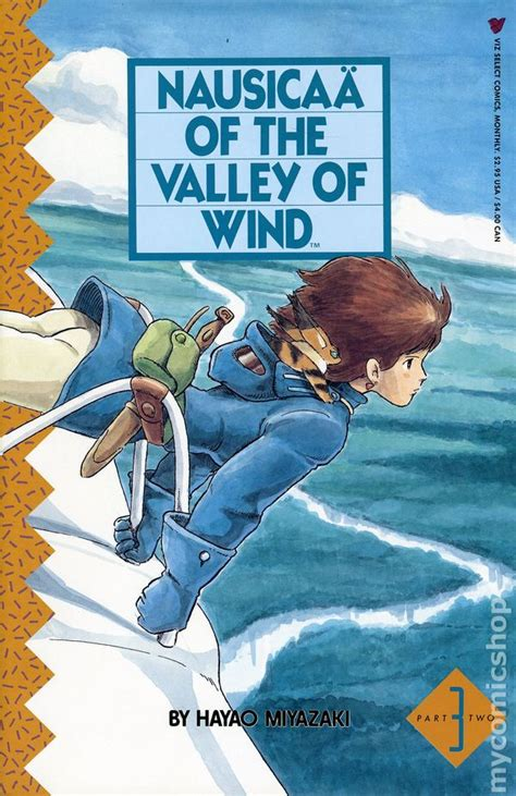 nausicaa of the valley of the wind nausicaa of the valley of wind part 2 1989 comic books