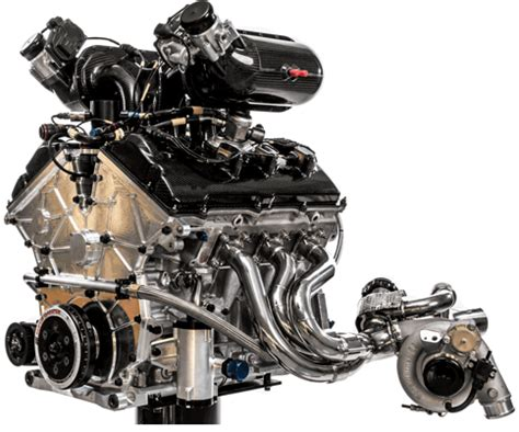 roush yates: le mans winning ford gt engine made of 1,600