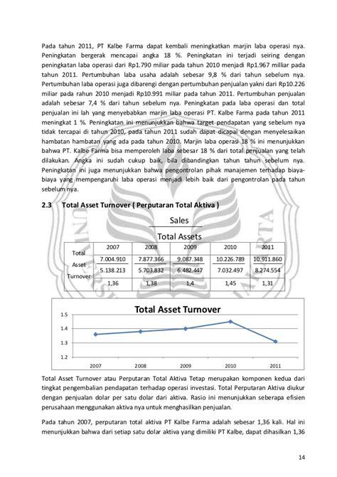 Analisis Kinerja analisis kinerja keuangan pt kimia farma tbk 2007 2011