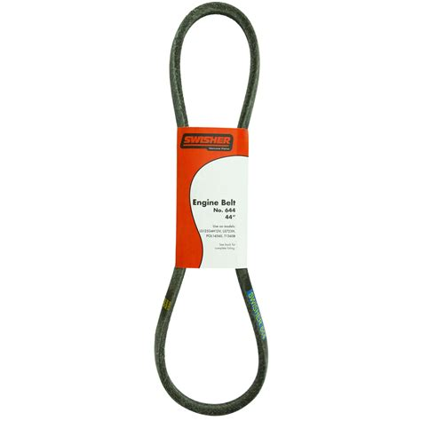 swisher bathroom supplies shop swisher 60 in deck drive belt for riding lawn mowers at lowes com