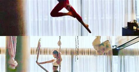 blackpink yoga đi tập yoga vẻ đẹp của jisoo jennie black pink khiến ai