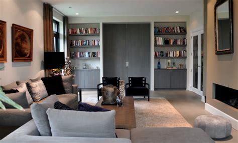 warm interieur woonkamer woonkamer in warm grijs raw interiors