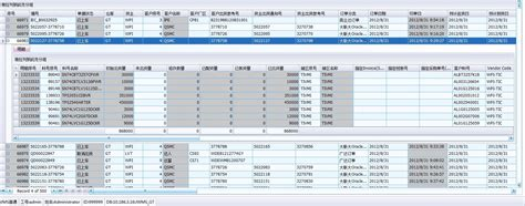 design html ui user interface design of html table with many columns