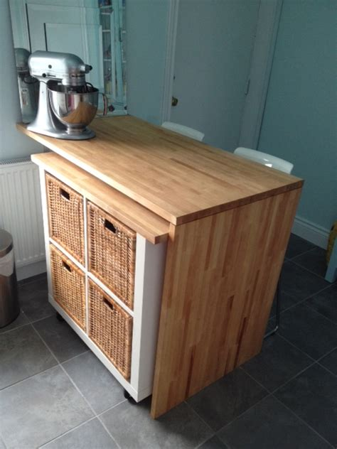 ikea kitchen island hack round em up diy ikea hacks