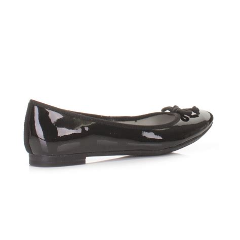clark flat shoes clarks ballerina pumps shoes carousel ride black