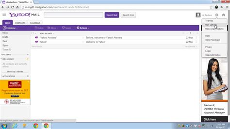 yahoo email options how to access yahoo mail in outlook technoideas