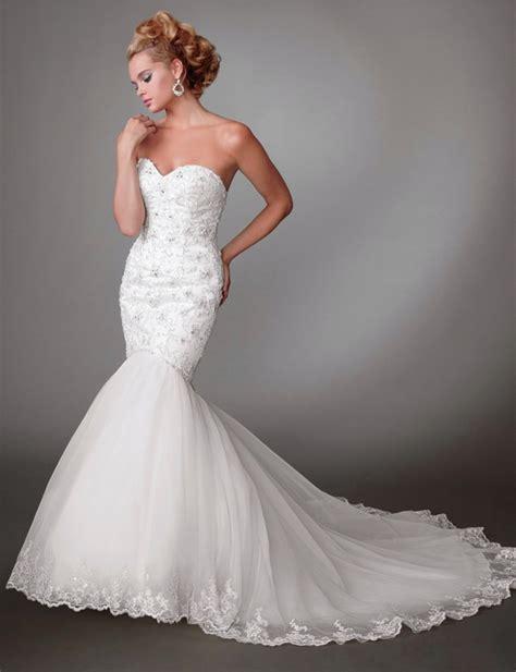 Mermaid Style Wedding Dresses sweetheart mermaid style wedding dress styles of wedding