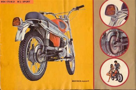 Wsk Motorrad by 8023 Best Images About Motorcycle Brochures Ads On