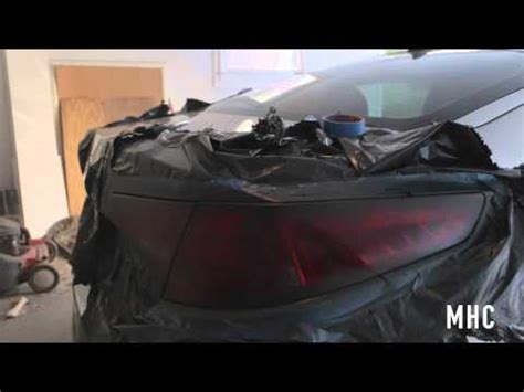 tinting your tail lights with plasti dip youtube diy