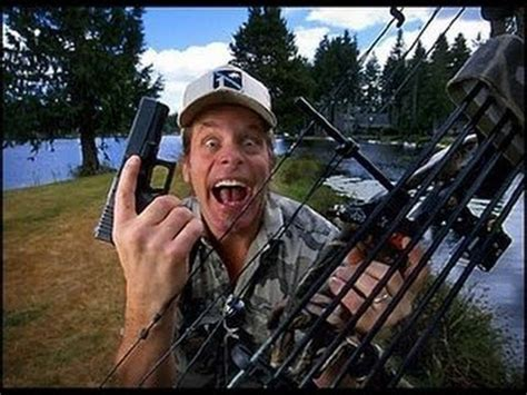 ted nugent i killed 455 pigs with machine gun for bill