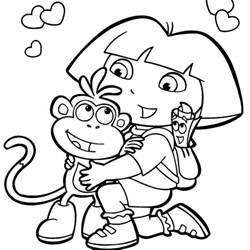Galerry free cartoon coloring books