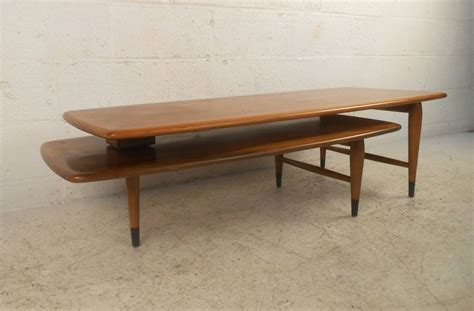 expanding coffee table mid century modern expanding coffee table by lane for sale