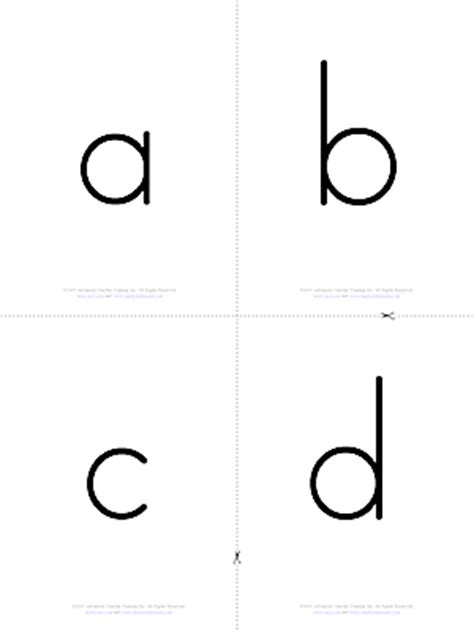 printable alphabet flash cards upper and lower case alphabet lower case b w free esl flashcards