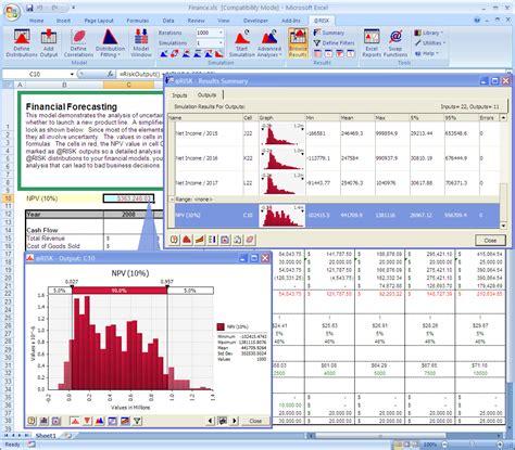 riskoptimizer monte carlo simulation  optimization